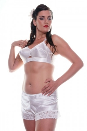 Cami1 White Cami Knickers