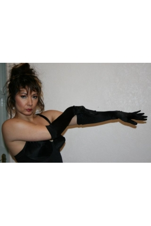AG1 Satin Opera Gloves